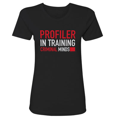 Criminal Minds Profiler In Training Women's Short Sleeve T-Shirt