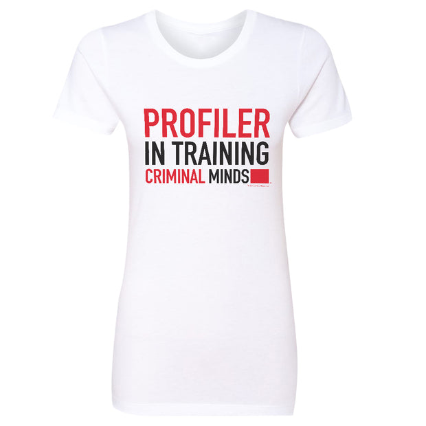 Criminal Minds Profiler In Training Women's Short Sleeve T-Shirt | Official CBS Entertainment Store