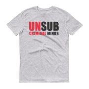 Criminal Minds Unsub Adult Short Sleeve T-Shirt | Official CBS Entertainment Store