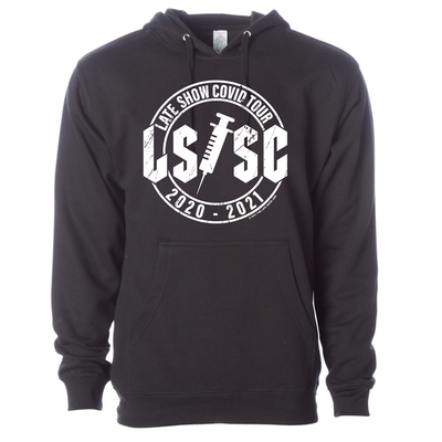 The Late Show with Stephen Colbert Covid Tour Hooded Sweatshirt | Official CBS Entertainment Store
