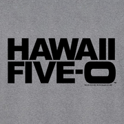 Hawaii Five-0 Logo Adult Long Sleeve T-Shirt