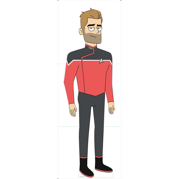 Star Trek: Lower Decks Jack Ransom Standee | Official CBS Entertainment Store