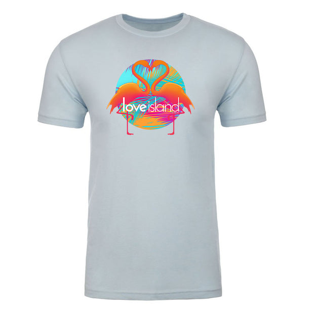 Love Island Flamingo Adult Short Sleeve T-Shirt | Official CBS Entertainment Store