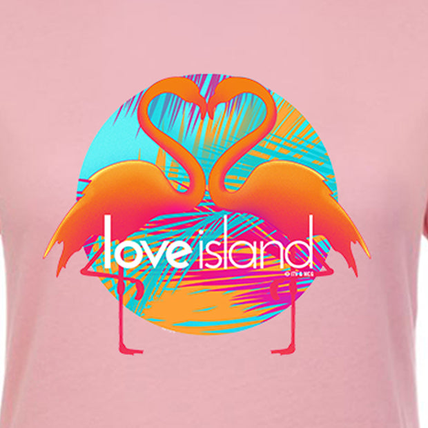 Love Island Flamingo Women's Short Sleeve T-Shirt | Official CBS Entertainment Store