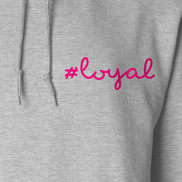 Love Island #Loyal Fleece Hooded Sweatshirt