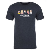 The Late Late Show with James Corden Crosswalk the Musical Characters Men's Tri-Blend T-Shirt