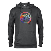 The Late Late Show with James Corden Drop the Mic Logo Lightweight Hooded Sweatshirt