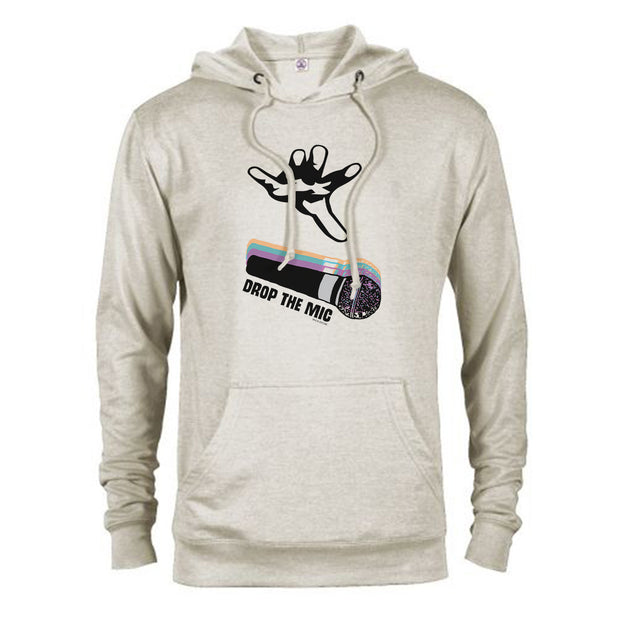 The Late Late Show with James Corden Mic Drop Lightweight Hooded Sweatshirt
