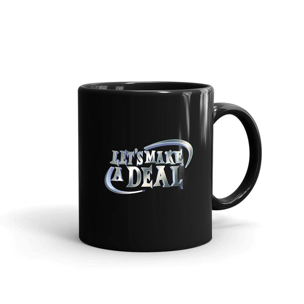 Let's Make A Deal Logo Black Mug | Official CBS Entertainment Store