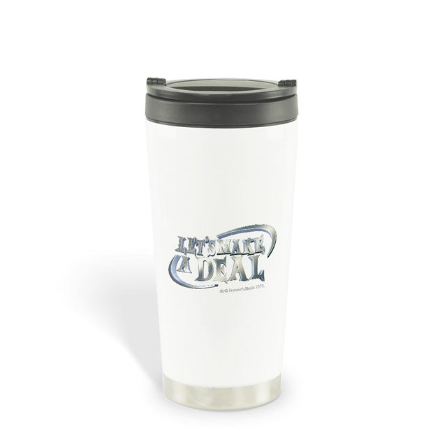 Let's Make A Deal Logo 16 oz Stainless Steel Thermal Travel Mug