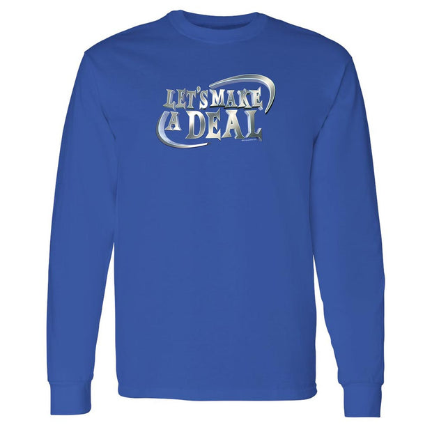 Let's Make A Deal Logo Adult Long Sleeve T-Shirt | Official CBS Entertainment Store