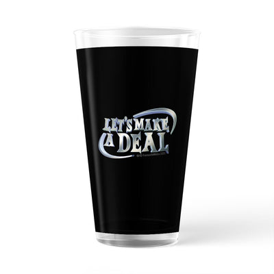Let's Make A Deal Logo 17 oz Pint Glass