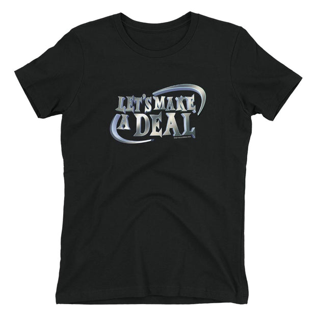 Let's Make A Deal Logo Women's Short Sleeve T-Shirt | Official CBS Entertainment Store