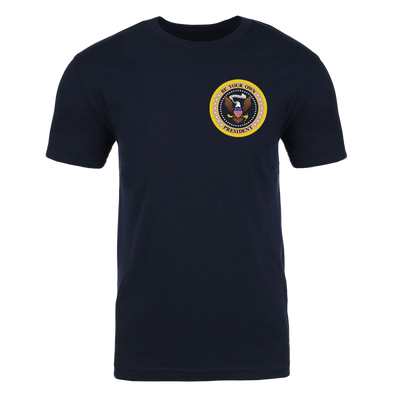 The Late Show with Stephen Colbert Be Your Own President Men's Classic Short Sleeve T-Shirt | Official CBS Entertainment Store