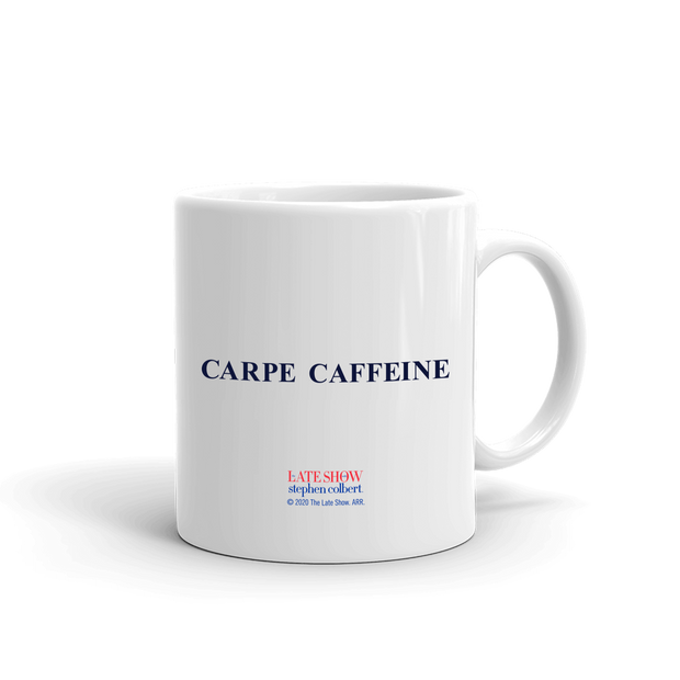 The Late Show with Stephen Colbert Be Your Own President White Mug | Official CBS Entertainment Store