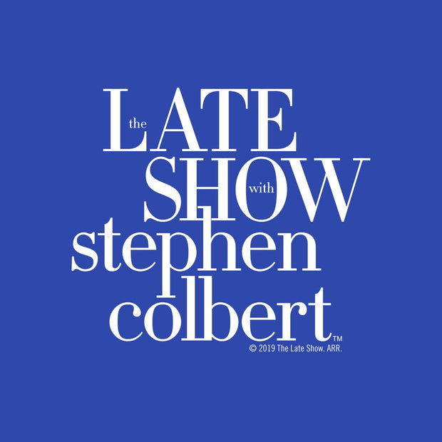 The Late Show with Stephn Colbert Logo Baby Bodysuit