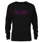 The Late Late Show with James Corden Late Late Fleece Crewneck Sweatshirt | Official CBS Entertainment Store