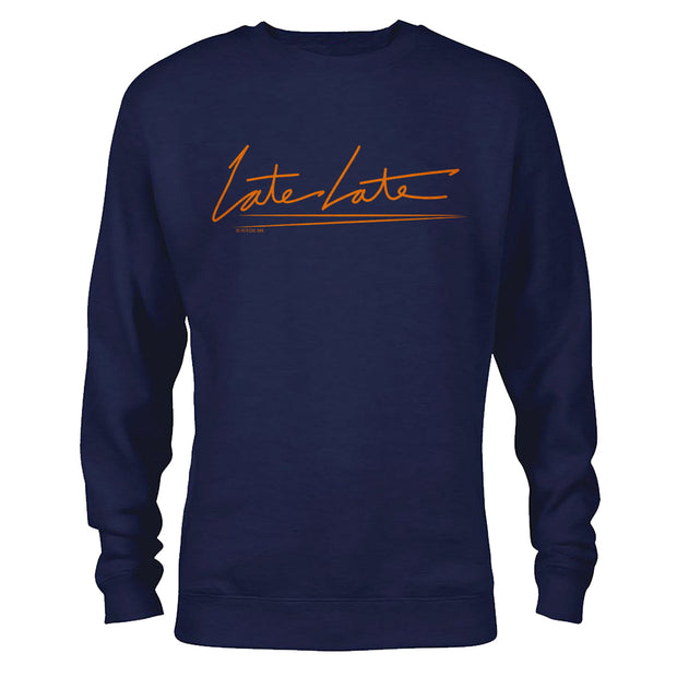 The Late Late Show with James Corden Late Late Fleece Crewneck Sweatshirt
