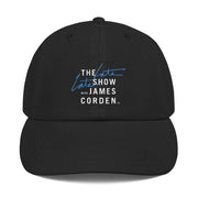 The Late Late Show with James Corden Logo Embroidered Hat | Official CBS Entertainment Store