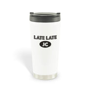 The Late Late Show with James Corden Late Late JC Travel Mug | Official CBS Entertainment Store