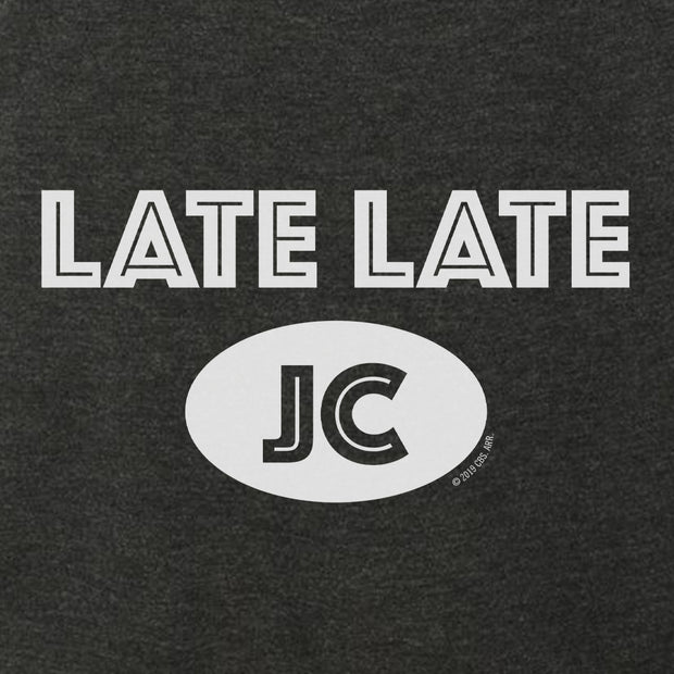 The Late Late Show with James Corden Late Late JC Women's Tri-Blend Racerback Tank Top | Official CBS Entertainment Store