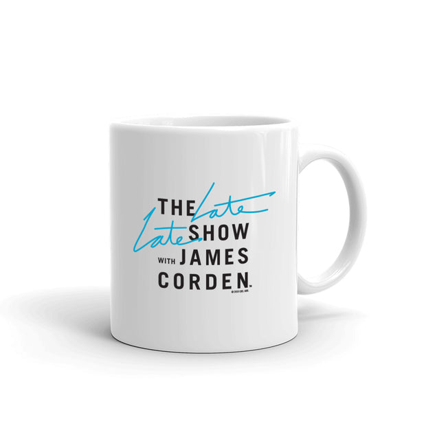 The Late Late Show with James Corden I'm A Late Late Person 11 oz White Mug