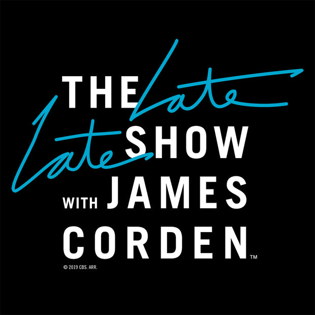 The Late Late Show with James Corden As Seen on Black Mug | Official CBS Entertainment Store