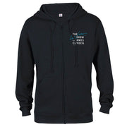 The Late Late Show with James Corden Logo Zip Up Hooded Sweatshirt