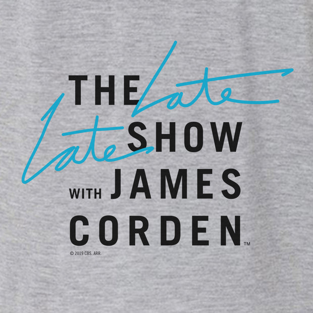 The Late Late Show with James Corden Logo Women's Relaxed V-Neck T-Shirt
