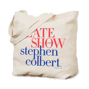 The Late Show with Stephen Colbert Canvas Tote Bag | Official CBS Entertainment Store