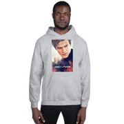 MacGyver Character Adult Fleece Hooded Sweatshirt
