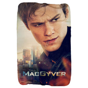 MacGyver Character Sherpa Blanket