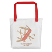 MacGyver Original Series Multi Device Design Premium Tote Bag