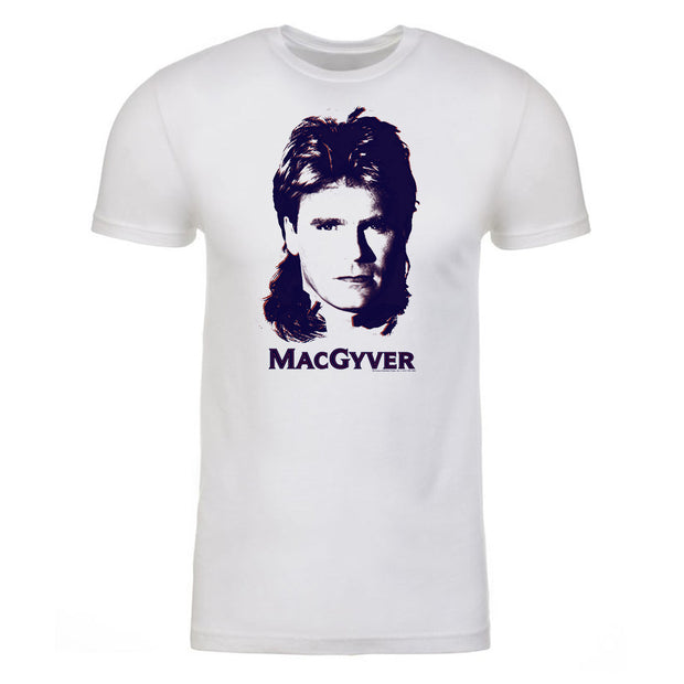 MacGyver Original Series Retro Design Adult Short Sleeve T-Shirt
