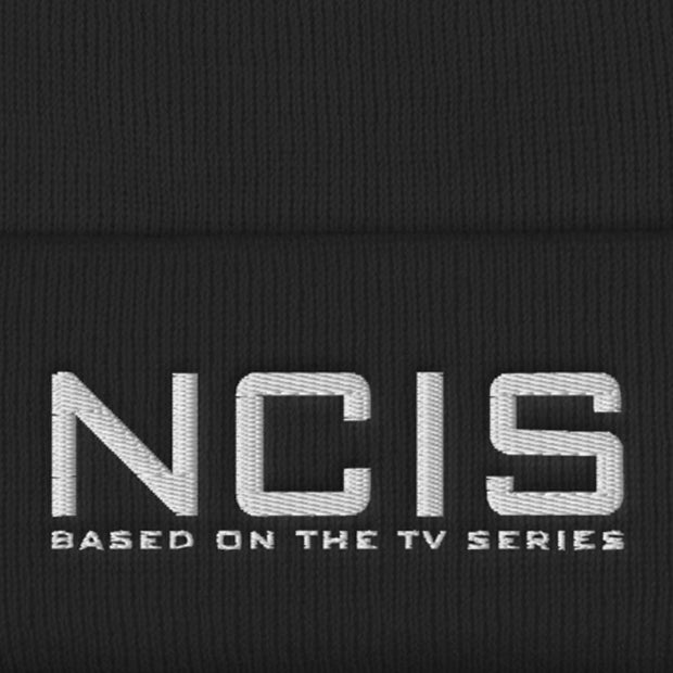 NCIS Logo Embroidered Beanie | Official CBS Entertainment Store