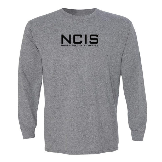 NCIS Logo Adult Long Sleeve T-Shirt