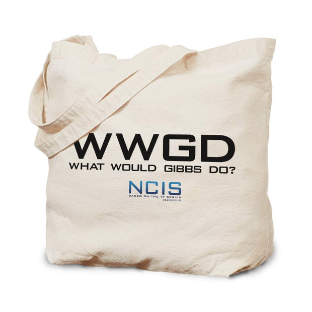 NCIS WWGD Canvas Tote