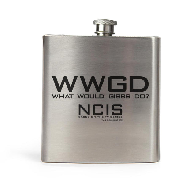 NCIS WWGD Stainless Steel Flask