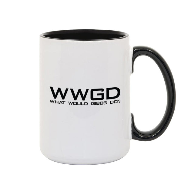 NCIS WWGD Two-Tone Mug | Official CBS Entertainment Store