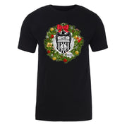 NCIS Special Agent Wreath Adult Short Sleeve T-Shirt