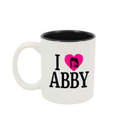 NCIS I heart Abby Two Tone Mug | Official CBS Entertainment Store