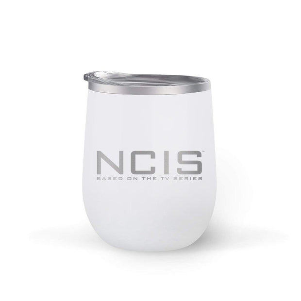NCIS Logo 12 oz Wine Tumbler | Official CBS Entertainment Store
