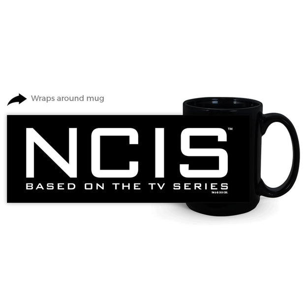 NCIS Logo 15 oz Black Mug