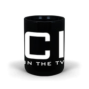 NCIS Logo 15 oz Black Mug | Official CBS Entertainment Store