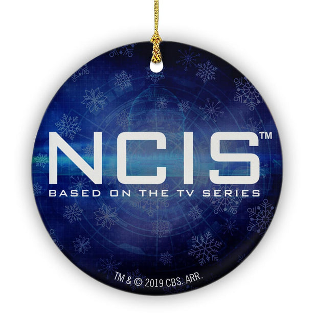 NCIS Logo Double Sided Ornament | Official CBS Entertainment Store