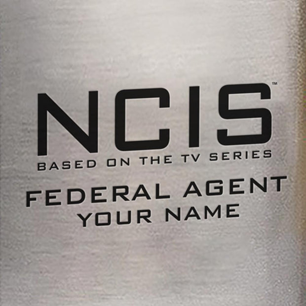 NCIS Logo Personalized Flask | Official CBS Entertainment Store