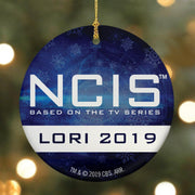 NCIS Personalized Logo Double Sided Ornament | Official CBS Entertainment Store