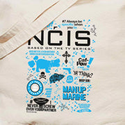 NCIS Mash Up Canvas Tote Bag | Official CBS Entertainment Store