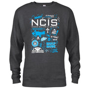 NCIS Mash Up Crew Neck Sweatshirt | Official CBS Entertainment Store