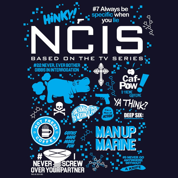 NCIS Mash Up Adult Short Sleeve T-Shirt